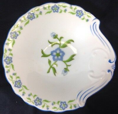 Andrea by Sadek Dish Blue Flower