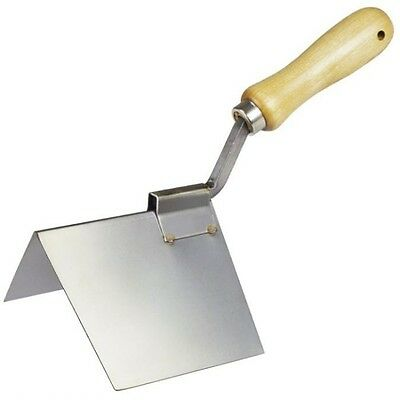 Kraft Tool Drywall Outside Corner Trowel Stainless Steel Made in the USA