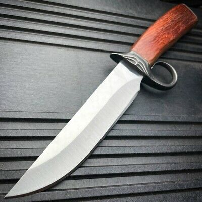 "16"" SURVIVAL HUNTING Bowie Military FULL TANG MACHETE Fixed Blade Knife SWORD"