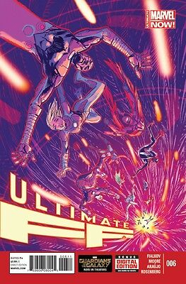 Ultimate Ff (2014) #6 Vf/nm Marvel Now