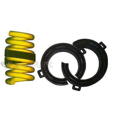 26-38mm Gap Car Suspension Coil Spring Assisters Spacers Towing small Rubber