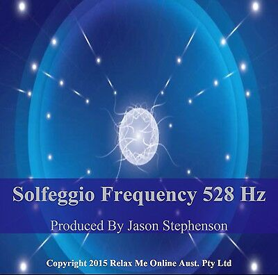 528 Hz Solfeggio CD Healing Music DNA Repair, Immunity Booster and Skin Repair