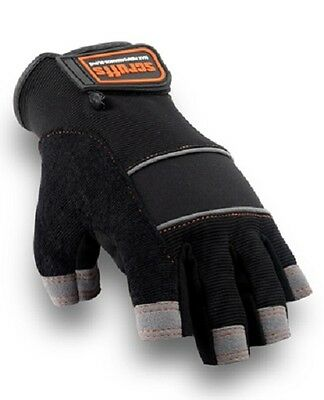 SCRUFFS MAX PERFORMANCE FINGERLESS WORK GLOVES CE Rated Size L Hand Protection