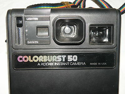 Kodak ColorBurst 50 Polaroid Camera 1979-1982 Colour Burst Made in USA