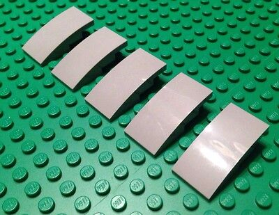 NEW / LEGO / Lot Of 5 Grey Parts / Plate W-Bow / 1x1x2/3 / Star Wars