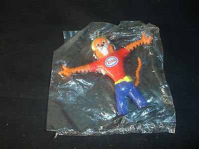 NOS Old Vtg Esso Oil & Gas Company Tiger Toy Action Figure In original Packaging