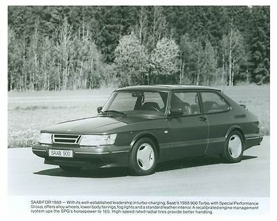 1988 Saab 900 Turbo Automobile Photo Poster zch5761