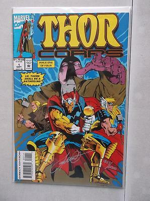 Thor Corps #1 Signed by Pat Olliffe with COA