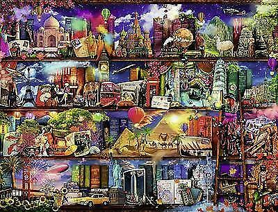 Ravensburger World of Books Jigsaw Puzzle (2000 Pieces) NEW