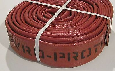 """2-1/2"""" x 50'  Fire Hose (65 MM) Pyroprotect"""