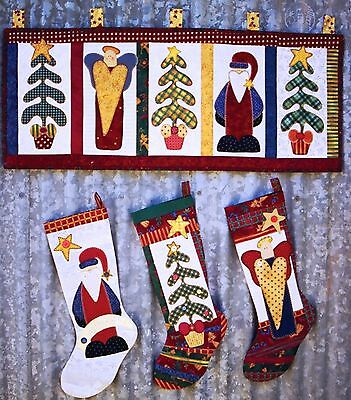Christmas Blessings Patchwork Pattern by Kookaburra Cottage