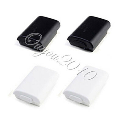 2X Battery Back Cover Shell Case Pack for Xbox 360 Wireless Controller