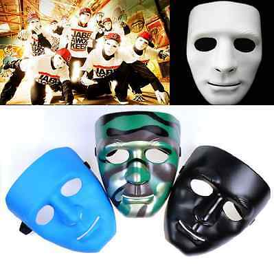 Scary Face Halloween Masquerade DIY Mime Mask Ball Party Costume Theater Masks