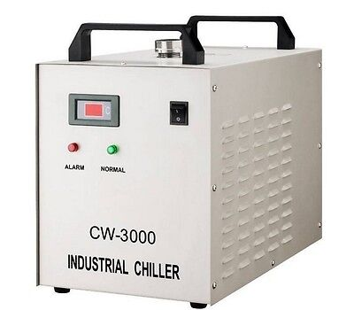 Industrial Water Chiller for CNC/ Laser Engraver Engraving Machines CW-3000 UKG