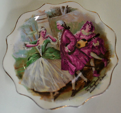 Royal Standard Small Display Plate Fragonard M.langbroek Amsterdam Holland c1950
