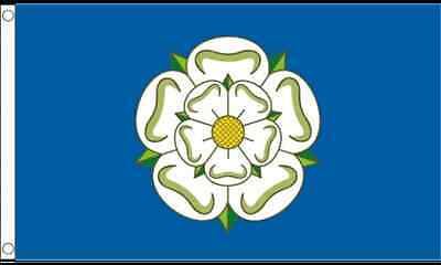 Premium Quality 5Ft X 3Ft 5'X3' Flag Yorkshire Rose England English County