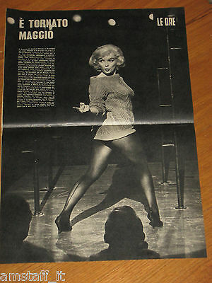 # Marilyn Monroe=Poster=Foto=Photo=Anno 1957=Misure 52X34 Cm.=Originale=