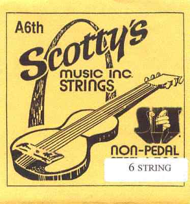 Scotty's  A6th - 6 Strings Lap Steel Guitar- 2 sets