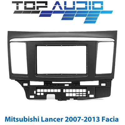 Mitsubishi Lancer car stereo radio Double 2 Din fascia dash panel facia kit trim