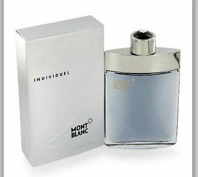 INDIVIDUEL by MONT BLANC for Men 2.5 oz New in Retail Box Sealed