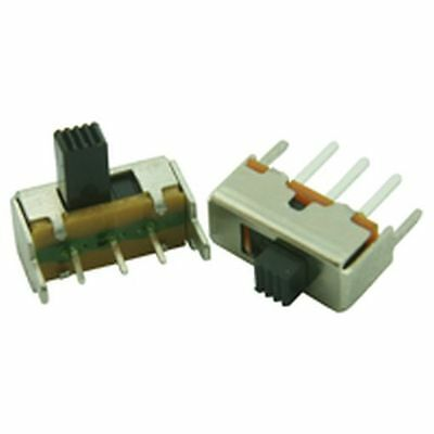Miniature PCB Slide Switch Right Angle (Pack of 3)