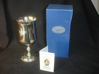 Collectible Warhammer A.E. Williams Pewter Mug Goblet In Box Made In U.K.