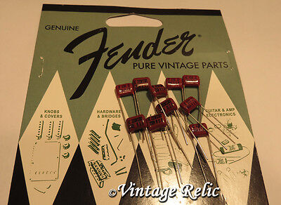 Fender USA .022 uF Tone Capacitor for Strat Tele LOT OF 10 (ten). Best price!