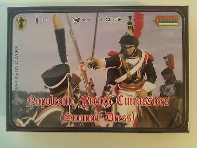 Strelets-R 1/72 Napoleonic Wars Napoleonic French Cuirassiers Summer Dress # 094