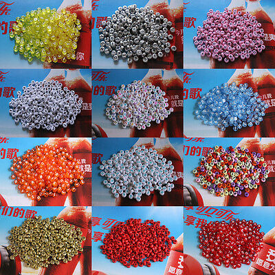 100-5000pcs 4x7mm Acrylic Mixed Alphabet Letter Coin Round Spacer Beads DIY Pick