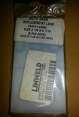 Replacement Speedglas Inner lens for a 9000x - Pack's of 5