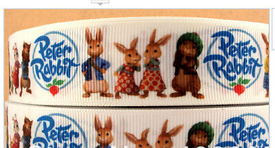 Peter Rabbit ribbon 1m long