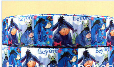 Eeyore Ribbon for cake decorating or scrap booking Winnie the Pooh