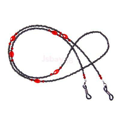 Beaded Eyeglass Sunglass Spectacles Glasses Holder Chain Necklace Strap Lanyard