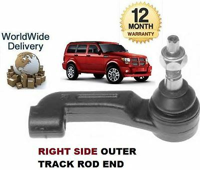 FOR DODGE NITRO 2.8DT 3.7i 2007--> NEW RIGHT RH OUTER TRACK TIE RACK ROD END