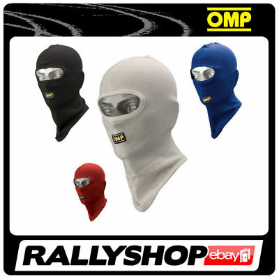 OMP Open Face Balaclava CHEAP DELIVERY WORLDWIDE Karting BLACK One SIZE