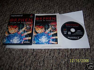 Orphen: Scion of Sorcery (PlayStation 2) complete ps2
