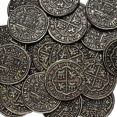 "Silver Pieces Of Eight Pirates Treasure Spanish Armada Coin ""one Coin Per Order"""