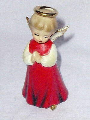 Vintage Christmas Angel Figurine, Inarco  #E1612, 4 in. 1964, EXC., LOOK!