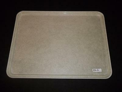 (12) Carlisle 14 x 19 Natural Serving Tray Restaurant Cafeteria Buffet Lunch