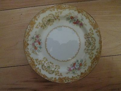 "Nortitake Bread & Butter Plate; Design is ""M""; made in Japan"