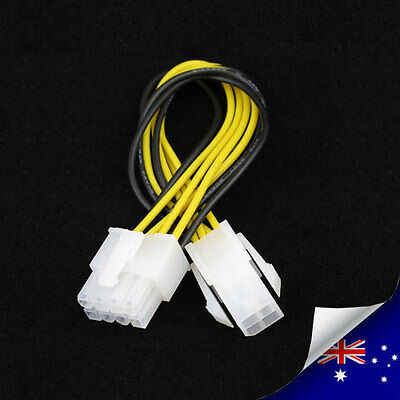 1 x 4 Pin ATX Male to 8 Pin EPS Female Power Adapter Cable -NEW (N045)