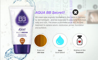Kiss New York Aqua Bb Beauty Balm 8 In 1 Multi Function Cream 1.5Oz