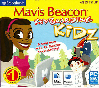 Mavis Beacon Keyboarding Kidz Typing Instructor for Kids PC Windows 7, 8, 10