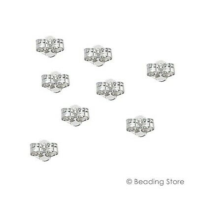 Various 925 Sterling Silver Light Ear Stud Post Butterfly Nuts Clutches Backs