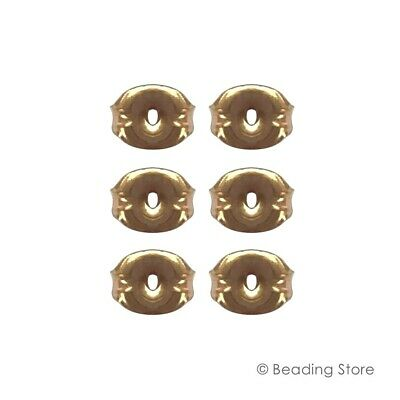 Various 14ct Yellow Gold Filled Ear Stud Post Butterfly Nuts Clutches Backs