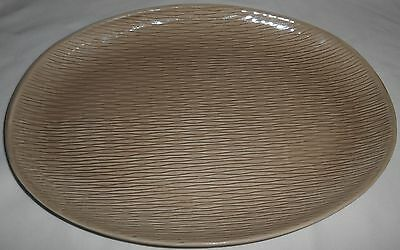 Steubenville COMTEMPORA RAYMOR Oval Platter FAWN BROWN COLOR