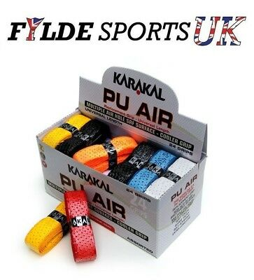 6 x Karakal PU AIR Grips - FREE P&P - Quick Delivery