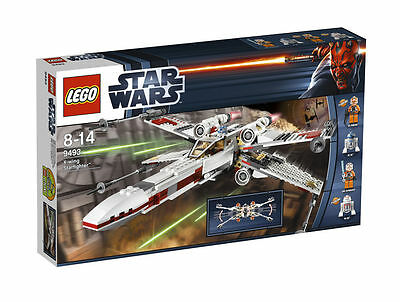 LEGO Star Wars X-Wing Starfighter 9493, New **Free Shipping!**