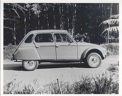 Citroen Dyane original Press Photograph