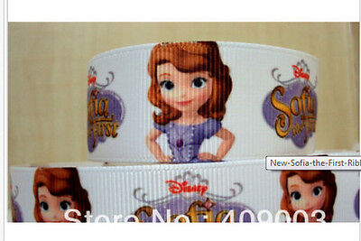 New Sofia the First Ribbon for cake decorating or scrap booking